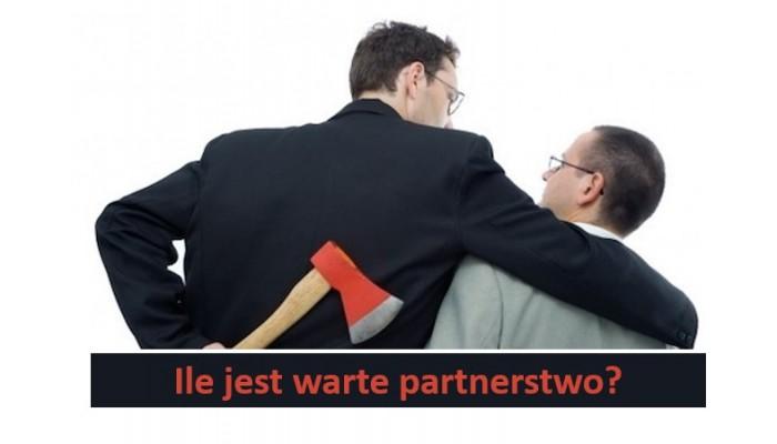 Ile jest warte partnerstwo?